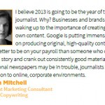 What's In Store for Content Marketing in 2013?