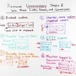 Remove Unnecessary Steps & Win More Links, Shares, and Conversions – Whiteboard Friday